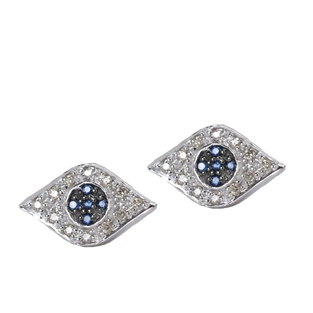 evil eye studs 4 Jewel Trends from Fragments