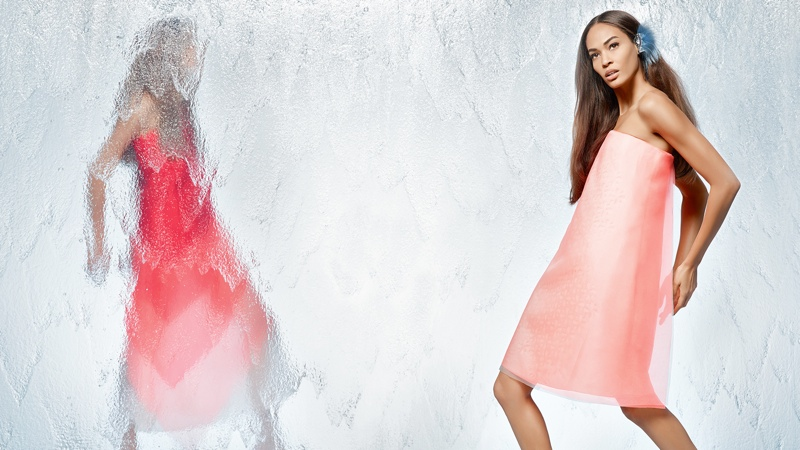 fendi spring 2014 campaign10 Nadja Bender + Joan Smalls Star in Fendi Spring 2014 Ads
