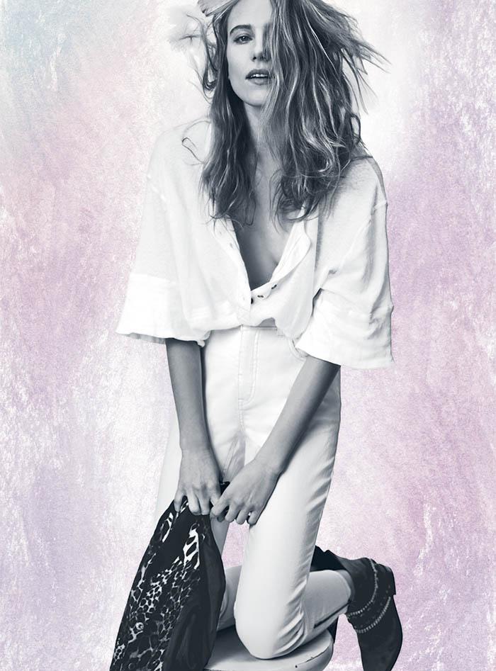 Dree Hemingway + Anais Mali Model for Free People's February Catalog