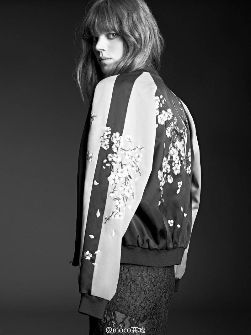 freja beha moco campaign5 Freja Beha Erichsen Returns for MO&Co. Spring/Summer 2014 Campaign