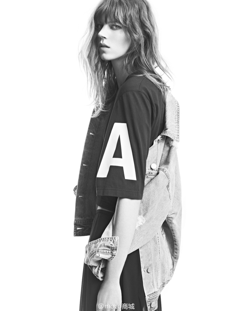 freja beha moco campaign7 Freja Beha Erichsen Returns for MO&Co. Spring/Summer 2014 Campaign