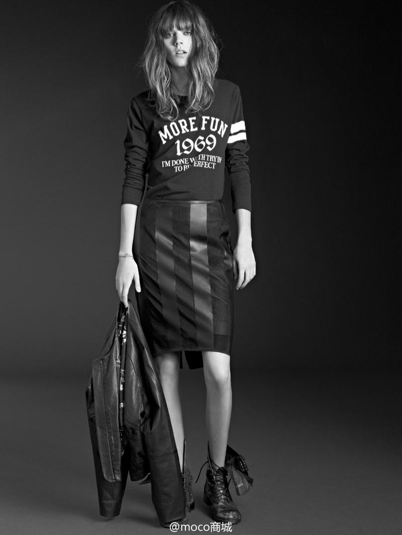 freja beha moco campaign9 Freja Beha Erichsen Returns for MO&Co. Spring/Summer 2014 Campaign