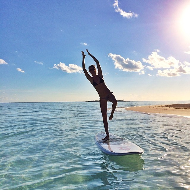 gisele surfing Instagram Photos of the Week | Toni Garrn, Bar Refaeli, Behati Prinsloo + More