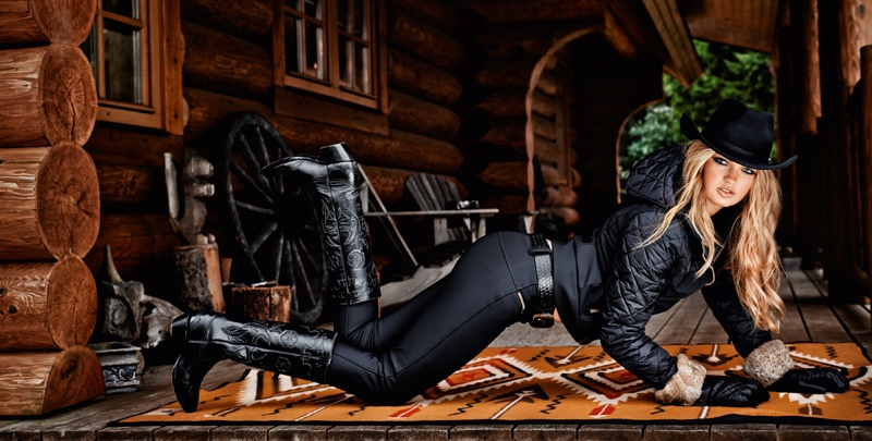 goldbergh winter 2014 photos 0002 Romee Strijd Takes a Ski Trip for Goldbergh Winter 2014