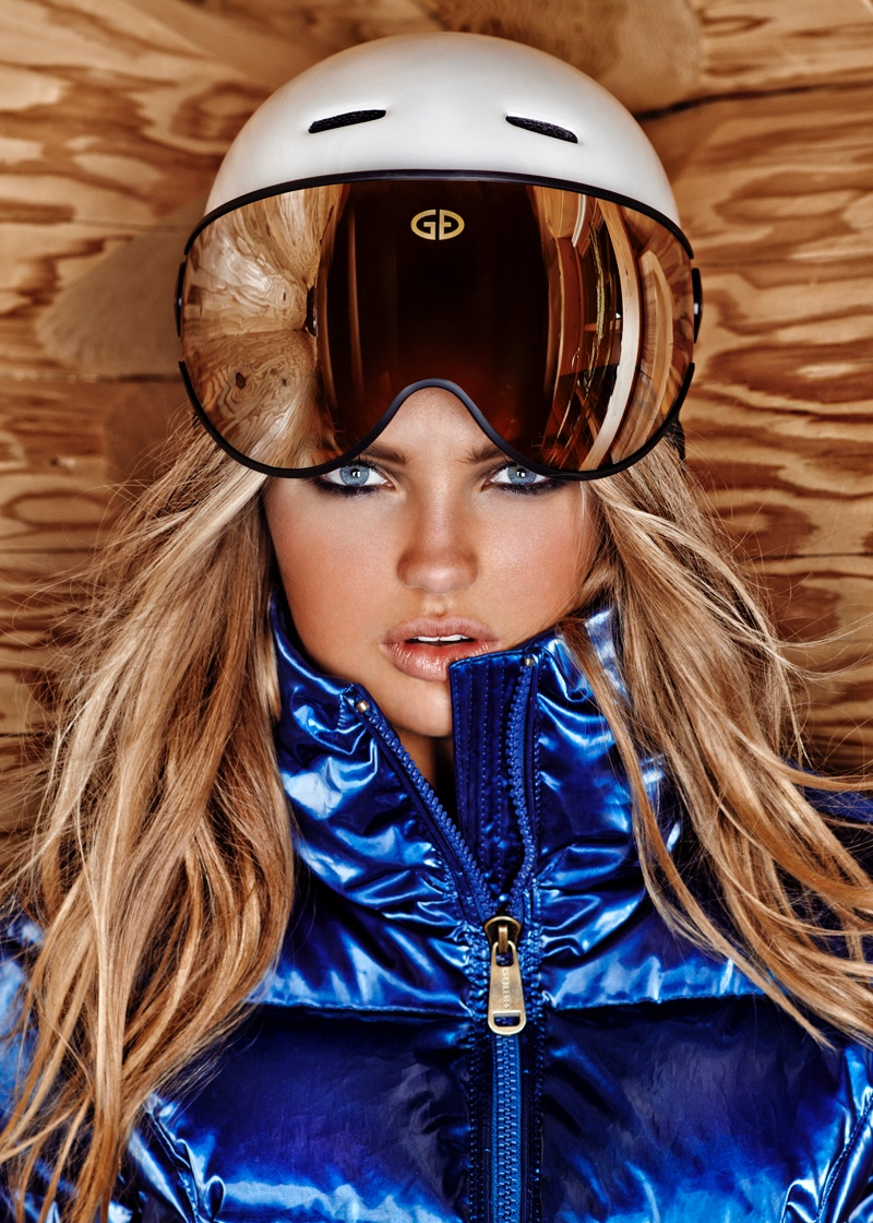 goldbergh winter 2014 photos 0005 Romee Strijd Takes a Ski Trip for Goldbergh Winter 2014