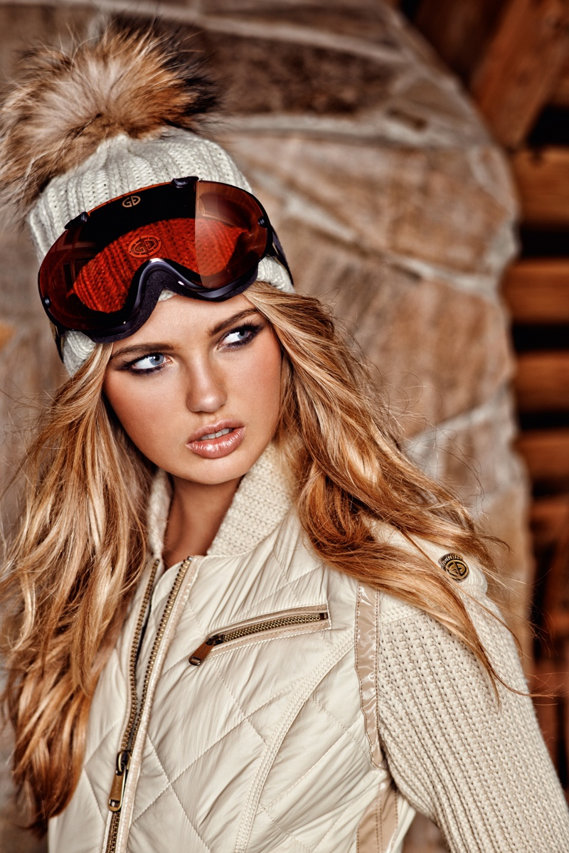 goldbergh winter 2014 photos 0009 Romee Strijd Takes a Ski Trip for Goldbergh Winter 2014