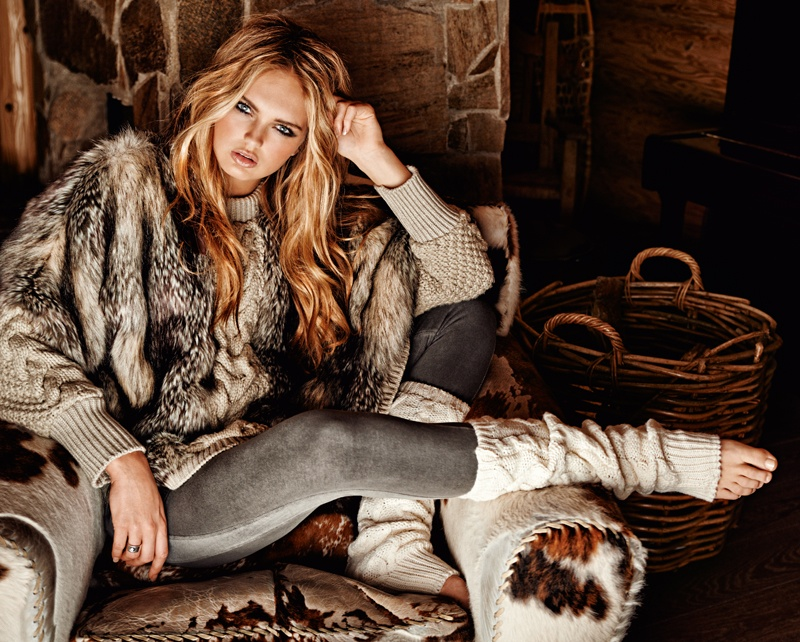 goldbergh winter 2014 photos 0010 Romee Strijd Takes a Ski Trip for Goldbergh Winter 2014