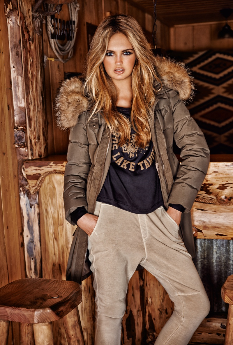 goldbergh winter 2014 photos 0011 Romee Strijd Takes a Ski Trip for Goldbergh Winter 2014