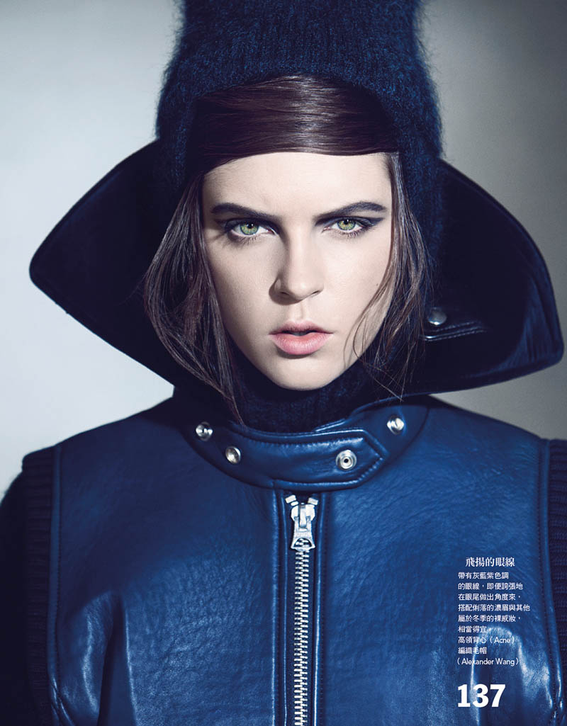 grey zone2 Kel Markey Enters the Grey Zone for Vogue Taiwan by Yossi Michaeli
