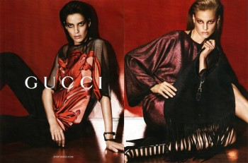 Amanda Wellsh + Elisabeth Erm for Gucci Spring/Summer 2014 Campaign