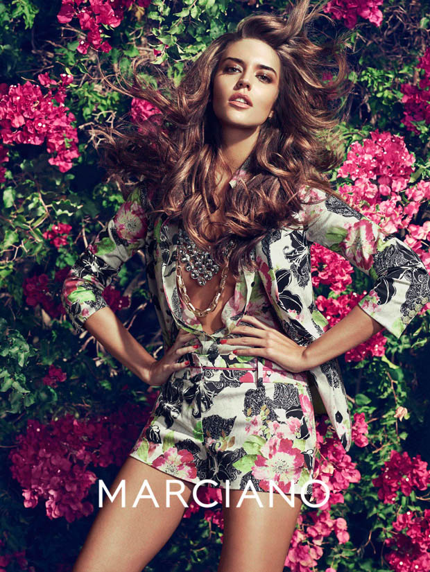 guess marciano spring 2014 campaign1 Clara Alonso & Heather Depriest Front Guess by Marciano Spring 2014 Ads by Hunter & Gatti