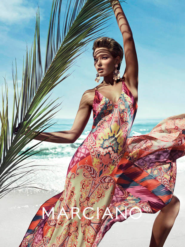 Clara Alonso & Heather Depriest Front Guess by Marciano Spring 2014 Ads by Hunter & Gatti