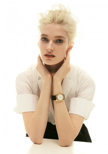 Helena Greyhorse Models Timepieces for Interview Russia by Nikolay Biryukov