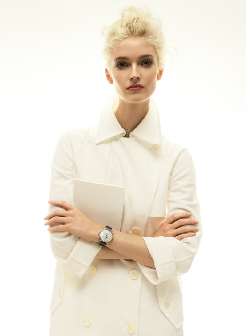 helena greyhorse model3 Helena Greyhorse Models Timepieces for Interview Russia by Nikolay Biryukov