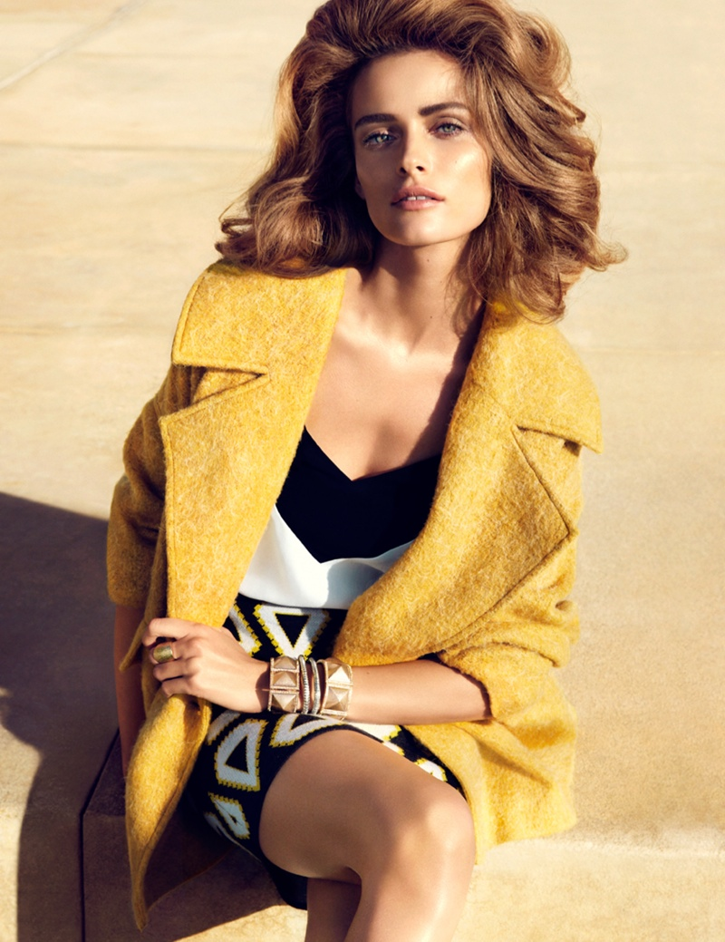 hm key pieces1 Edita Vilkeviciute Wears H&Ms Key Pieces for Spring