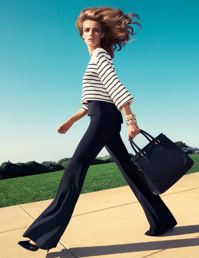 Edita Vilkeviciute Wears H&M's Key Pieces for Spring