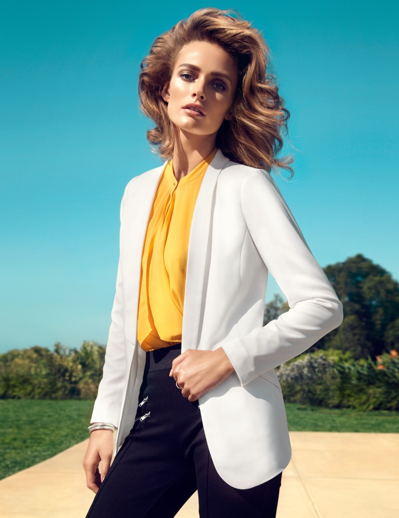 hm key pieces8 Edita Vilkeviciute Wears H&Ms Key Pieces for Spring