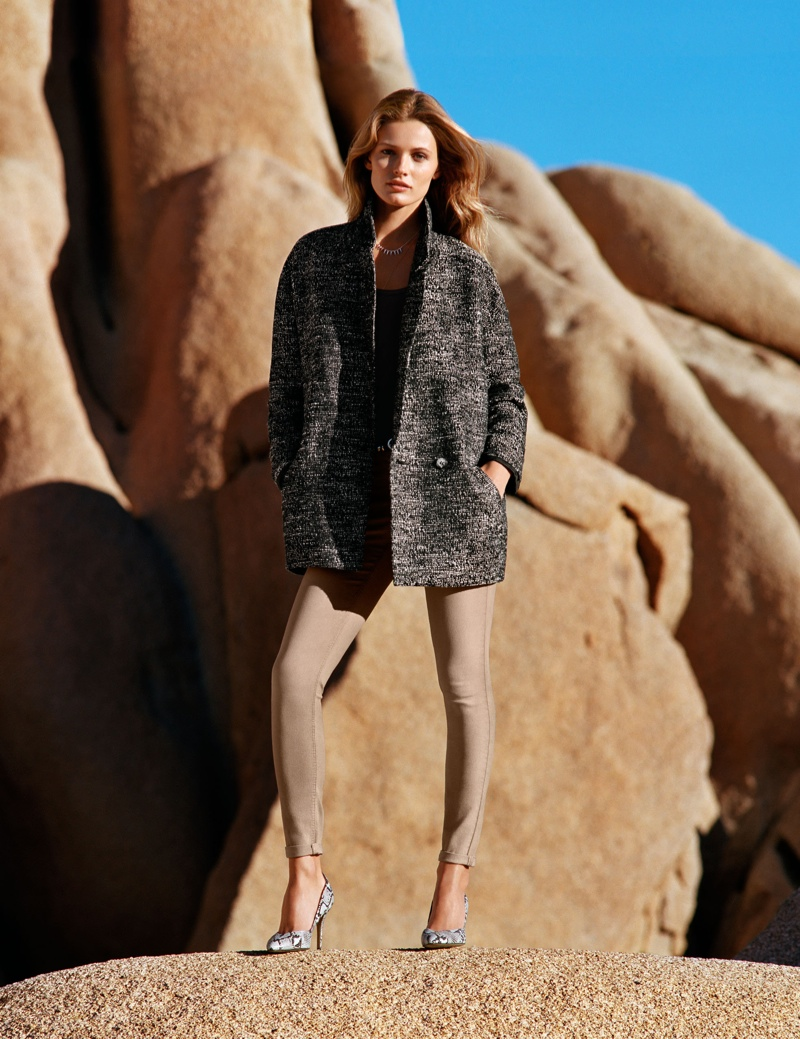 hm spring looks5 Edita Vilkeviciute Wears Spring Looks for H&M