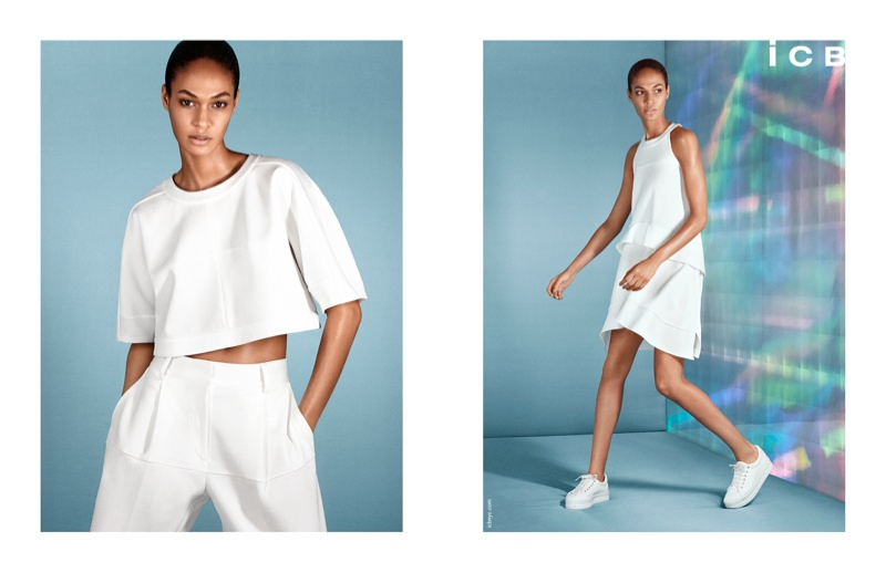 icb spring 2014 campaign2 Joan Smalls Poses for iCB Spring/Summer 2014 Campaign