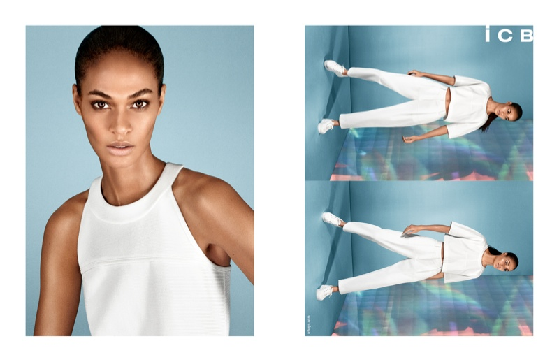 icb spring 2014 campaign3 Joan Smalls Poses for iCB Spring/Summer 2014 Campaign