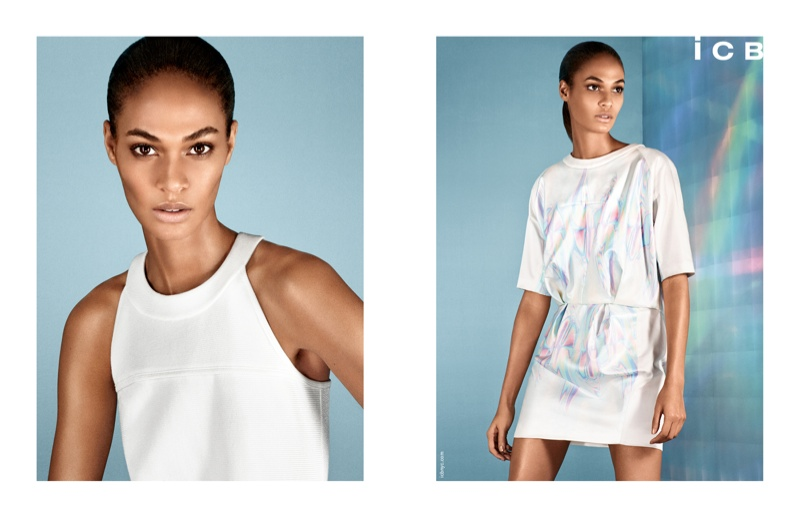 icb spring 2014 campaign4 Joan Smalls Poses for iCB Spring/Summer 2014 Campaign