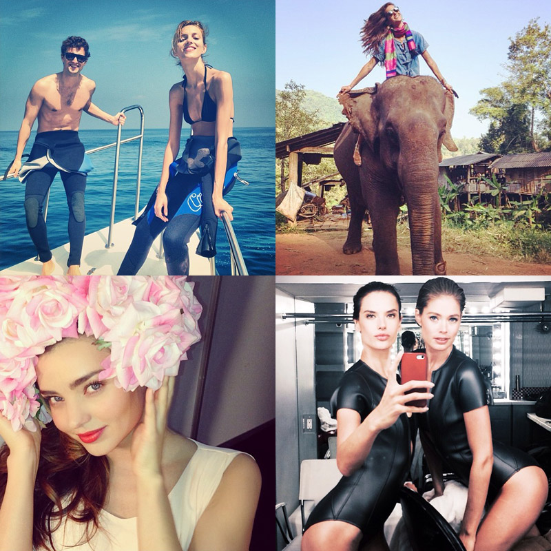 instagram jan 10th Instagram Photos of the Week | Doutzen Kroes, Anja Rubik + More Model Pics