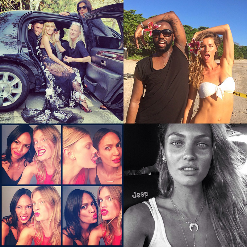 instagram jan roundup fgr Instagram Photos of the Week | Candice Swanepoel, Joan Smalls, Constance Jablonski + More
