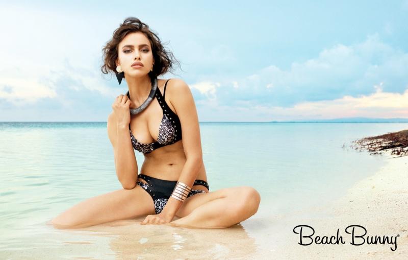irina shayk beach bunny spring 2014 6 Irina Shayk Stars in Beach Bunny Spring 2014 Campaign