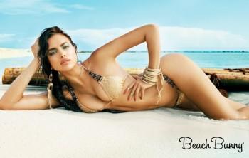 Irina Shayk for Beach Bunny Spring 2014 Campaign