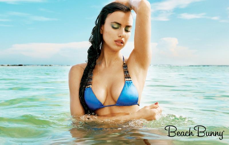 irina shayk beach bunny spring 2014 8 Irina Shayk Stars in Beach Bunny Spring 2014 Campaign