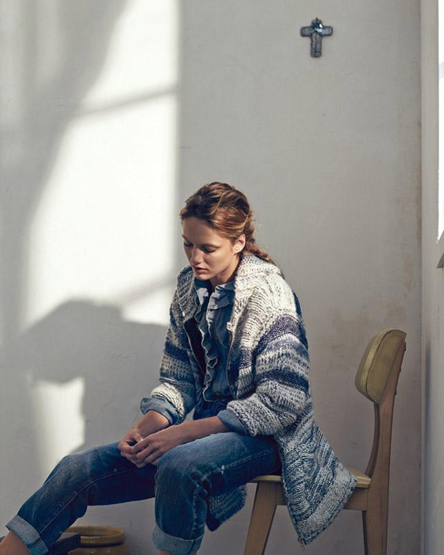 isabel marant etoile spring 2014 12 Karmen Pedaru Models Isabel Marant Etoiles Spring 2014 Collection
