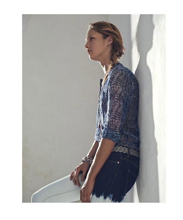 isabel marant etoile spring 2014 13 Karmen Pedaru Models Isabel Marant Etoiles Spring 2014 Collection