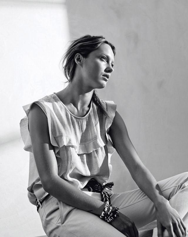 isabel marant etoile spring 2014 14 Karmen Pedaru Models Isabel Marant Etoiles Spring 2014 Collection