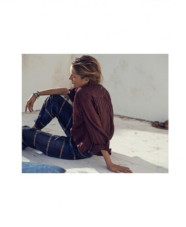 isabel marant etoile spring 2014 16 Karmen Pedaru Models Isabel Marant Etoiles Spring 2014 Collection