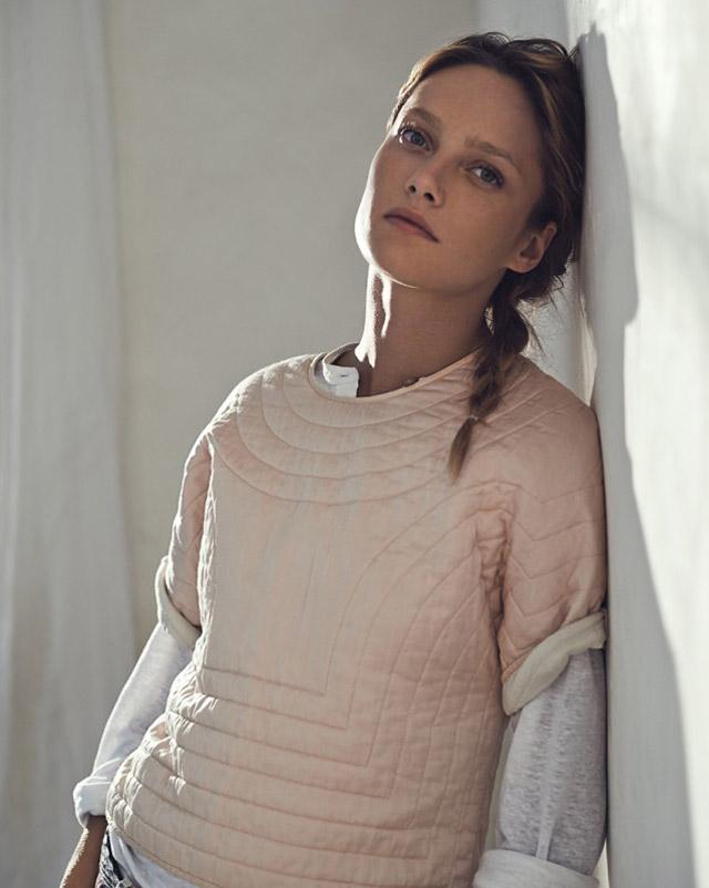 isabel marant etoile spring 2014 17 Karmen Pedaru Models Isabel Marant Etoiles Spring 2014 Collection