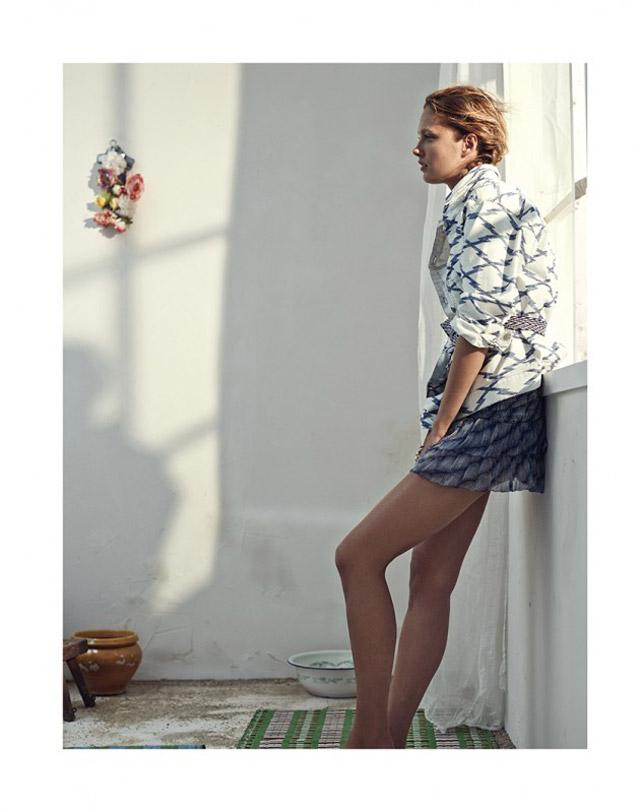 isabel marant etoile spring 2014 18 Karmen Pedaru Models Isabel Marant Etoiles Spring 2014 Collection