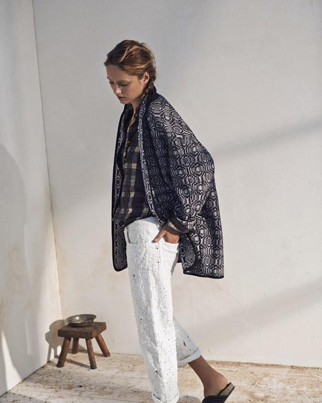 isabel marant etoile spring 2014 4 Karmen Pedaru Models Isabel Marant Etoiles Spring 2014 Collection