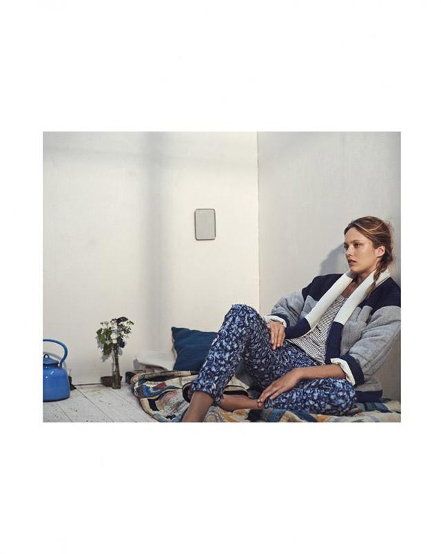 isabel marant etoile spring 2014 5 Karmen Pedaru Models Isabel Marant Etoiles Spring 2014 Collection