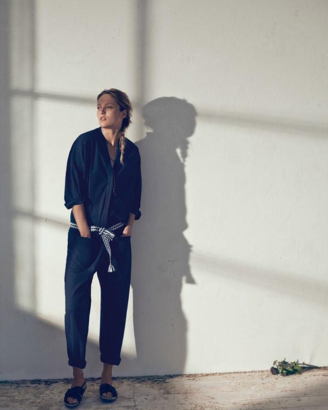 isabel marant etoile spring 2014 9 Karmen Pedaru Models Isabel Marant Etoiles Spring 2014 Collection