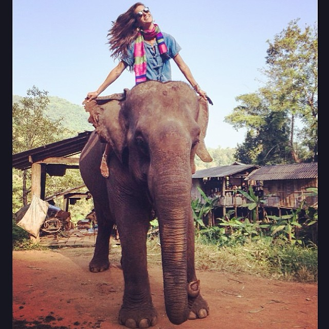 izabel elephant Instagram Photos of the Week | Doutzen Kroes, Anja Rubik + More Model Pics