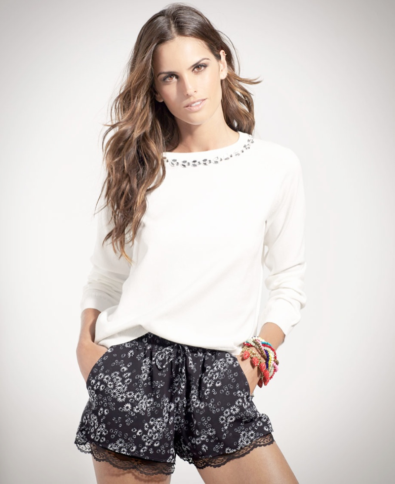 izabel goulart blanco shoot11 Izabel Goulart Fronts SuiteBlanco Spring 2014 Campaign