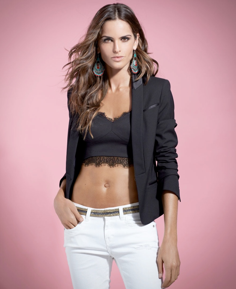 izabel goulart blanco shoot2 Izabel Goulart Fronts SuiteBlanco Spring 2014 Campaign
