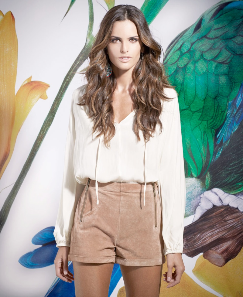 izabel goulart blanco shoot3 Izabel Goulart Fronts SuiteBlanco Spring 2014 Campaign