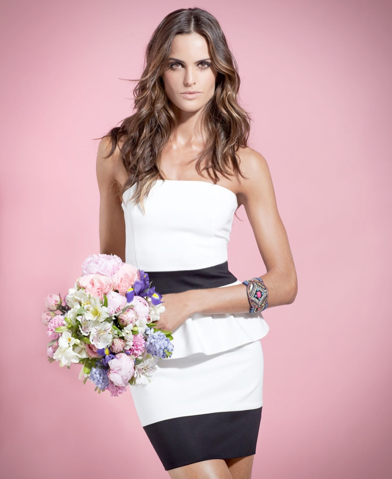 izabel goulart blanco shoot4 Izabel Goulart Fronts SuiteBlanco Spring 2014 Campaign