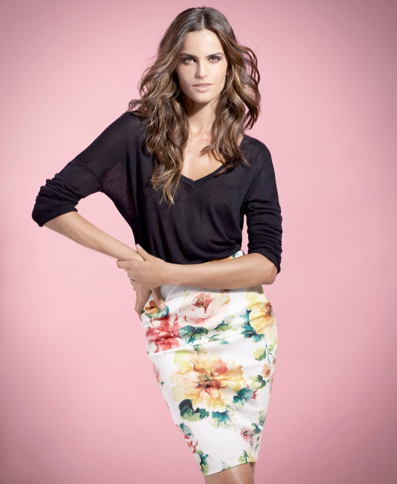 izabel goulart blanco shoot8 Izabel Goulart Fronts SuiteBlanco Spring 2014 Campaign