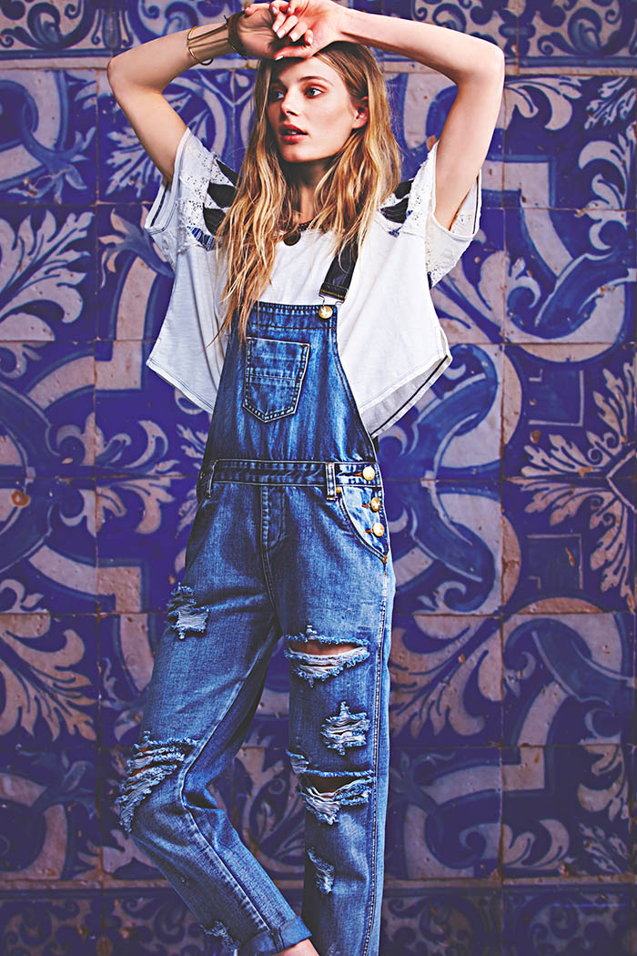 january free people10 Ieva Laguna Poses for Free Peoples January Lookbook