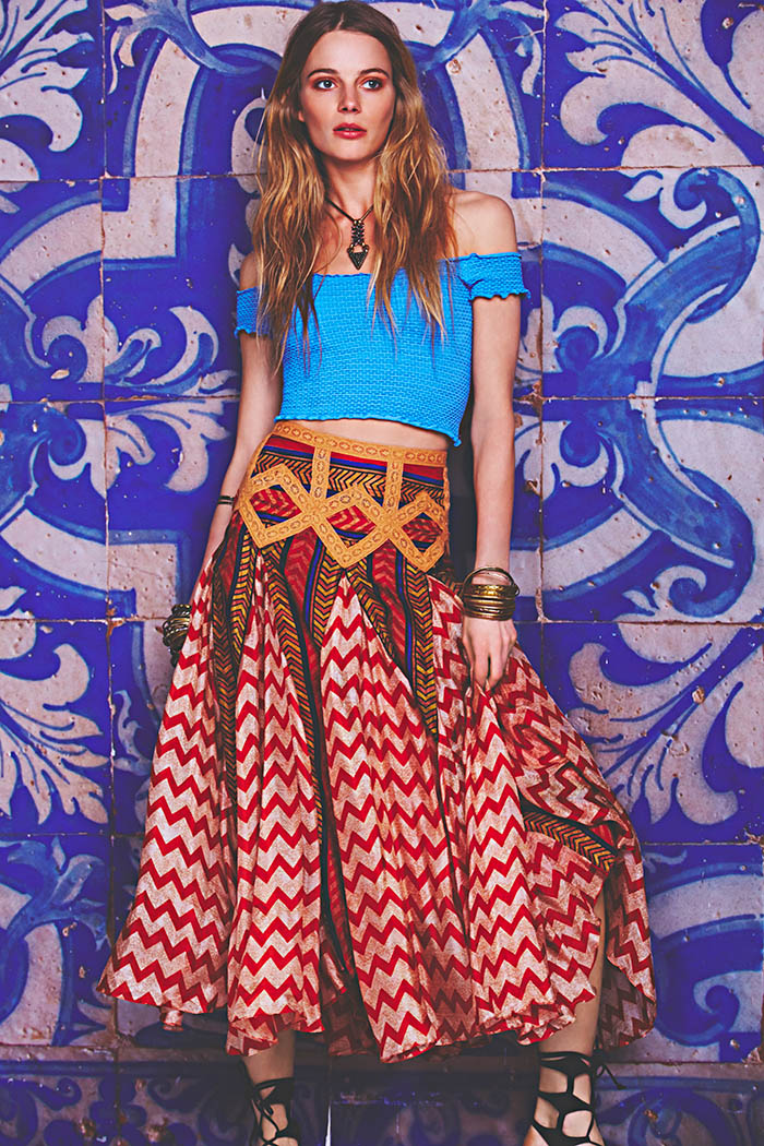 january free people2 Ieva Laguna Poses for Free Peoples January Lookbook