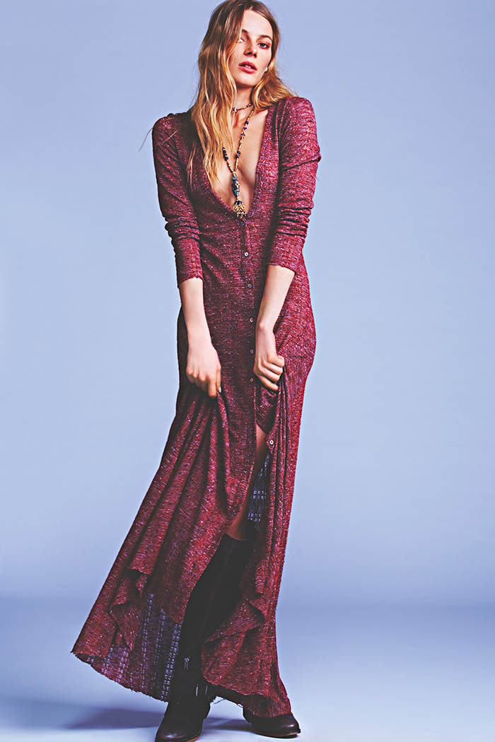 january free people8 Ieva Laguna Poses for Free Peoples January Lookbook