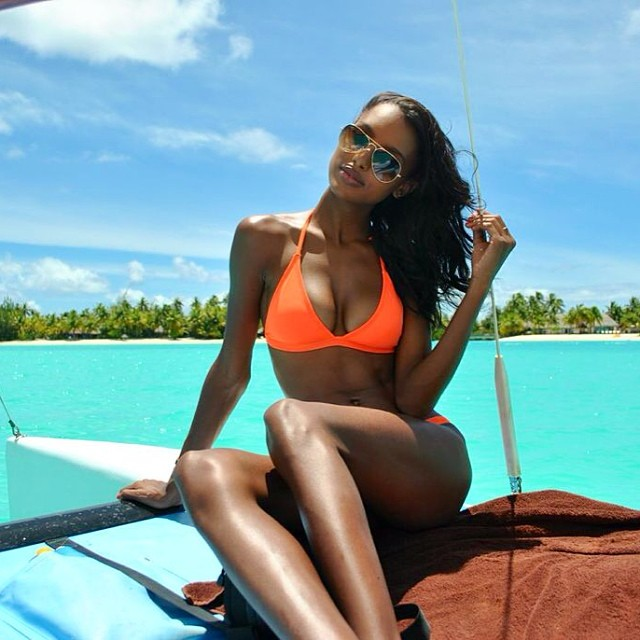 jasmine bora bora Instagram Photos of the Week | Doutzen Kroes, Anja Rubik + More Model Pics