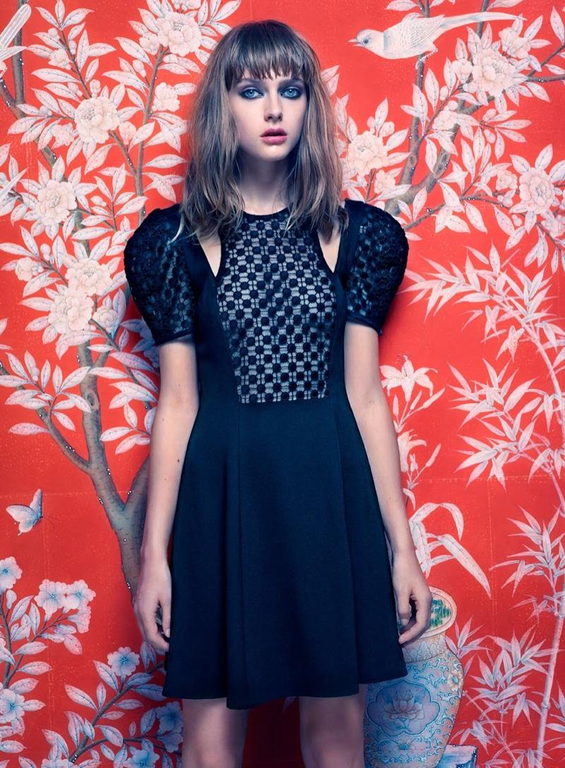Gracie van Gastel Stars in Jill Stuart Spring/Summer 2014 Campaign